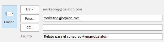Concurso #veranobejalon 2017