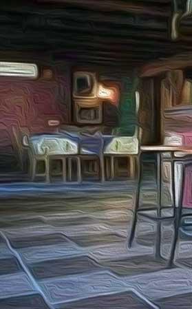 Un bar de pueblo